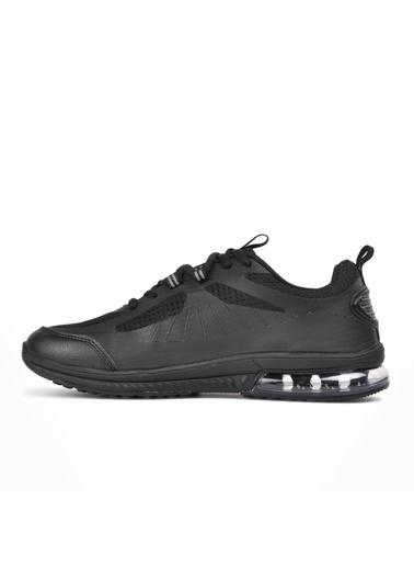 Hammer Jack Lima 101 21010 Siyah Erkek Spor Ayakkabı Siyah